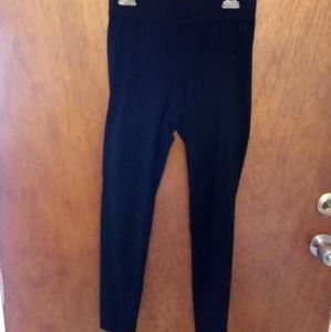VS PINK Black Leggings Small